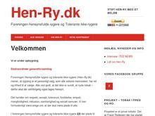 HEN-RY (Foreningen af HENsynsfulde Rygere og Toler